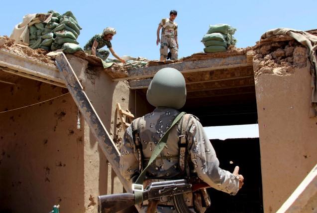 L'attaque contre des soldats américains a été revendiquée... (AFP, NOOR MOHAMMAD)