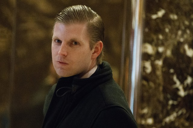 Pour lever des fonds, la fondation d'Eric Trump... (photo archives AP)