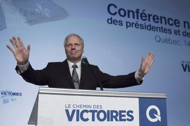 Le chef péquiste Jean-François Lisée a dit se... (Photo archives La Presse canadienne)