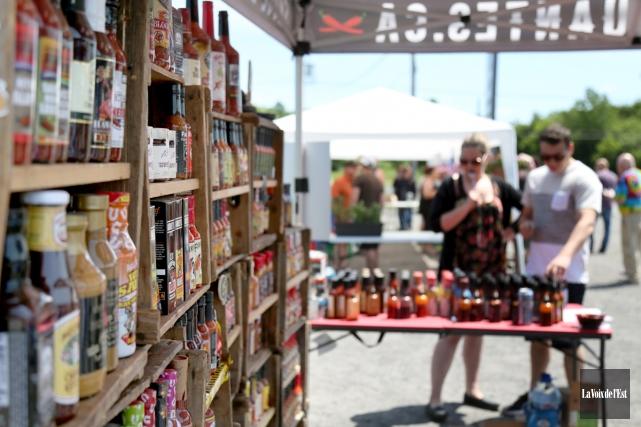 Le succès du Festival du piment fort d'Ange-Gardien... (Julie Catudal, La Voix de l'Est)