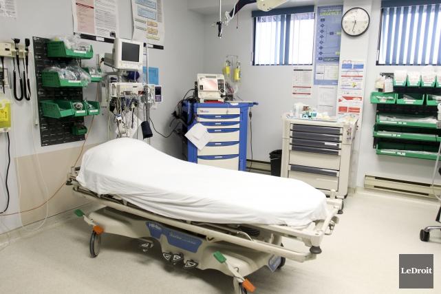 Le nombre de résidents de l'Outaouais ayant obtenu des services de santé à... (Patrick Woodbury, Archives Le Droit)