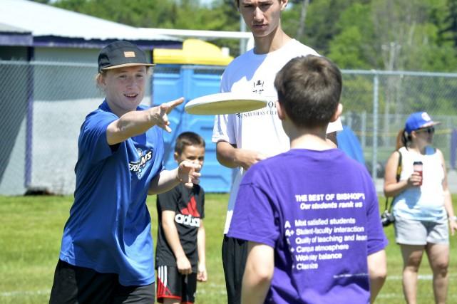 L'ultimate frisbee gagne en popularité d'année en année... (Spectre Média, Maxime Picard)