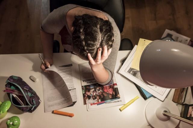 C'est en subissant un échec à un examen... (Spectre média, Jessica Garneau)