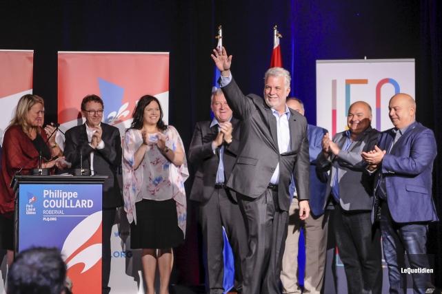 Le premier ministre Philippe Couillard a été désigné... (Photo Le Quotidien, Gimmy Desbiens)