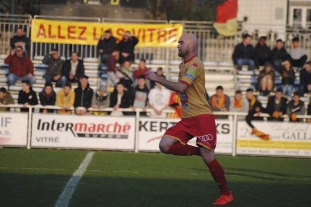 Jérémy Gagnon-Laparé, en pleine action avec l'Amicale sportive... (Photo fournie)