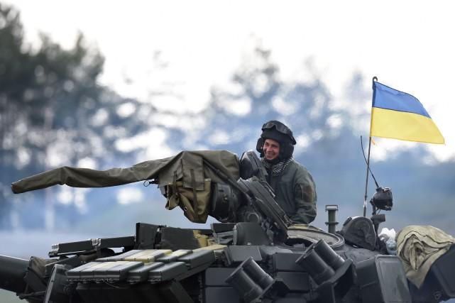 Le conflit entre armée ukrainienne et rebelles séparatistes,... (AFP)