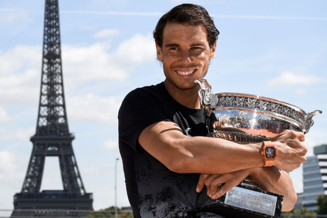 Rafael Nadal... (Photo CHRISTOPHE SIMON, Agence France-Presse)