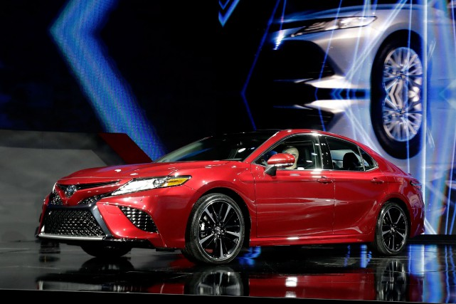 La Toyota Camry 2018.... (Photo Carlos Osorio, archives Associated Press)