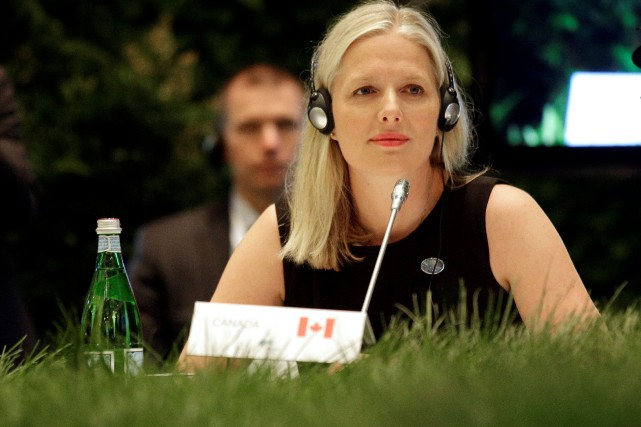 La ministre canadienne de l'Environnement, Catherine McKenna, a promis... (Photo Max Rossi, REUTERS)