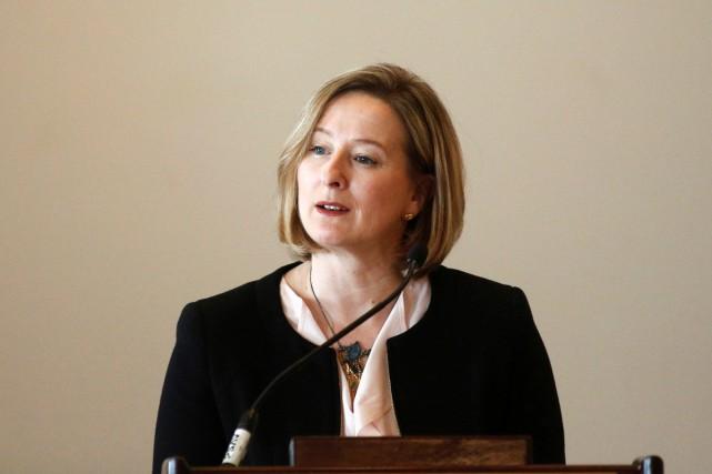 Dans un discours prononcé lundi, Carolyn Wilkins, première... (PHOTO REUTERS)