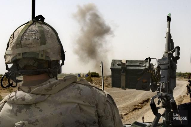 Plusieurs militaires canadiens blessés ou malades se sont... (Photo archives La Presse)