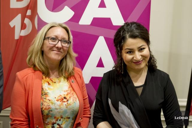 La ministre de la Condition féminine, Maryam Monsef... (Martin Roy, Le Droit)