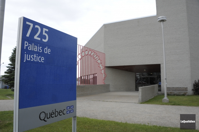 Palais de justice d'Alma.... (Archives le Quotidien, Gimmy Desbiens)