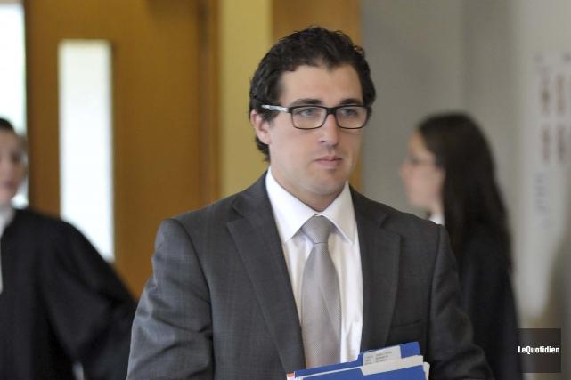 Me David-Alexandre Aubé, de l'étude Légalis, société d'avocats,... (Archives Le Quotidien, Rocket Lavoie)