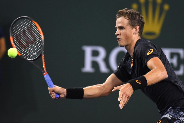 Vasek Pospisil... (ARCHIVES REUTERS)