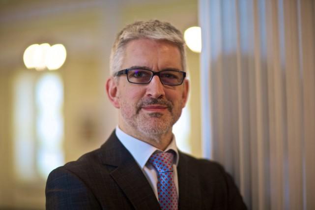 Jean-Martin Aussant, directeur général du Chantier de l'économie... (La Presse Andre Pichette)