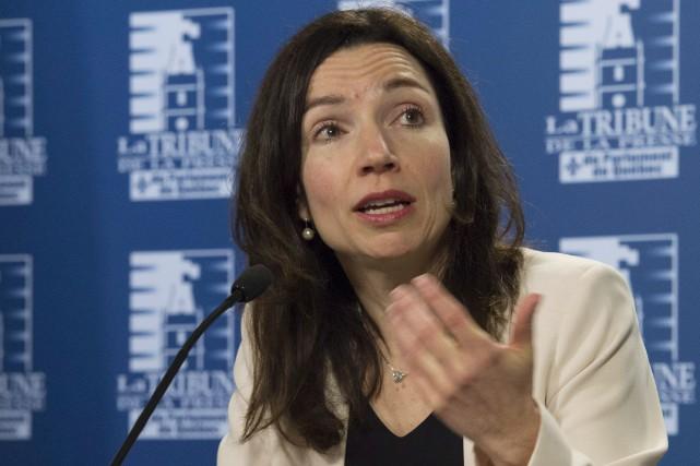 Martine Ouellet croyait probablement que la présence à... (La Presse Canadienne)