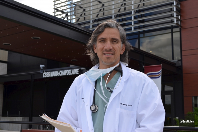 Le Dr Stanley Vollant est le président d'honneur... (Archives le Quotidien)