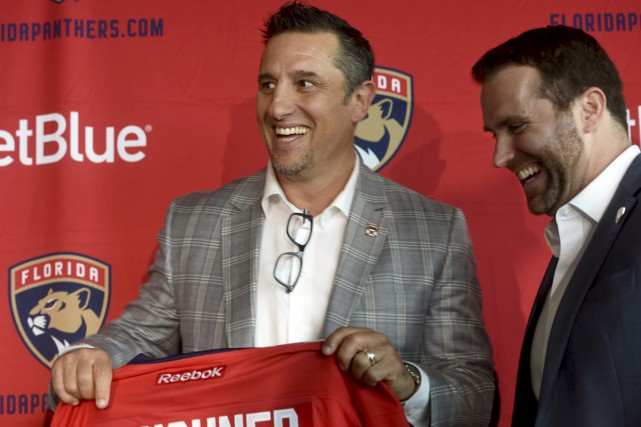 Bob Boughner devient le 15e entraîneur-chef des Panthers.... (Associated Press)