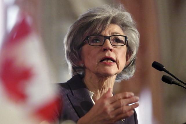 La juge en chef, Beverly McLachlin, prendra sa... (Archives, La Presse Canadienne)