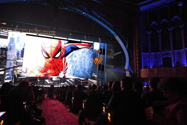 La liste des blockbusters sur PS4 présentés au... (PHOTO Robyn Beck, AFP)