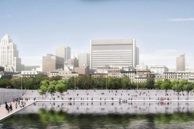 Face au bassin Jacques-Cartier et au bassin de... (Illustration fournie par le Vieux-Port de Montréal)