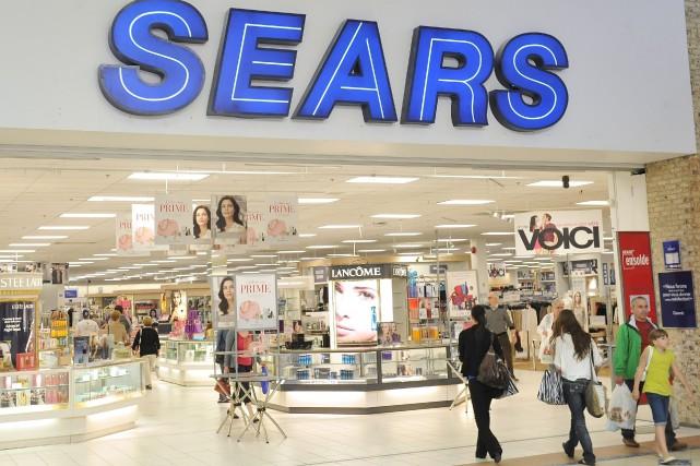 Sears Canada a prévenu mardi par voie de communiqué qu'elle a été incapable... (Archives La Tribune, Maxime Picard)