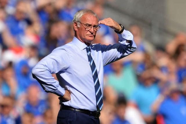 Claudio Ranieri... (Photo GLYN KIRK, archives AFP)