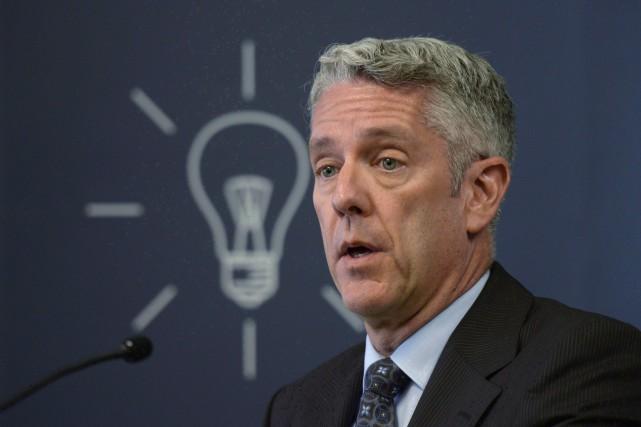 Dans son dernier discours comme président du Conseil... (THE CANADIAN PRESS)