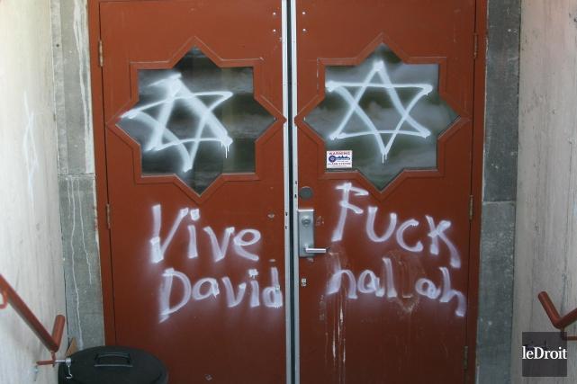 Les crimes haineux dirigés vers les Musulmans sont... (Patrick Woodbury, Archives Le Droit)