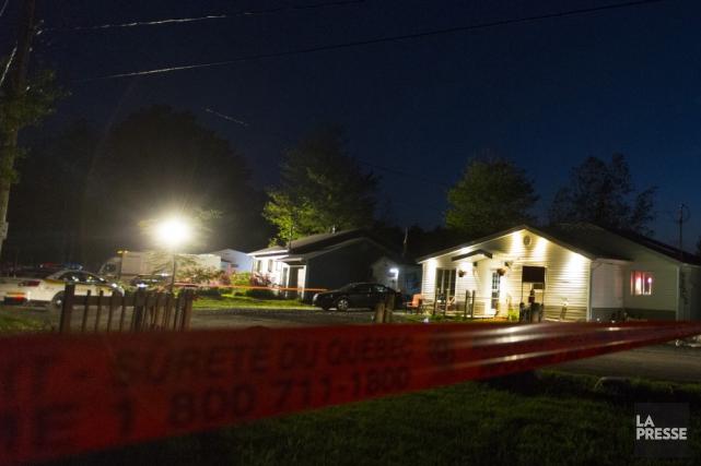 La Sûreté du Québec (SQ) privilégie l'hypothèse du double meurtre suivi d'un... (Photo La Presse archives)