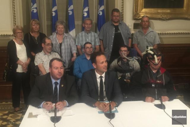 Il n'est pas question que les 20 résidants de la maison Jean-Eudes Bergeron... (Photo Le Quotidien)