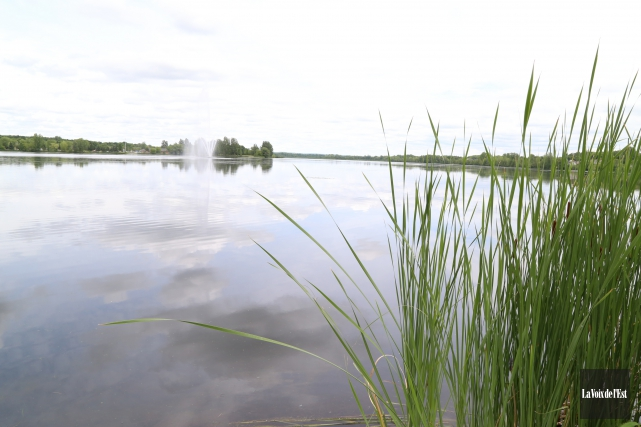 Le lac Boivin... (Janick Marois, archives La Voix de l'Est)