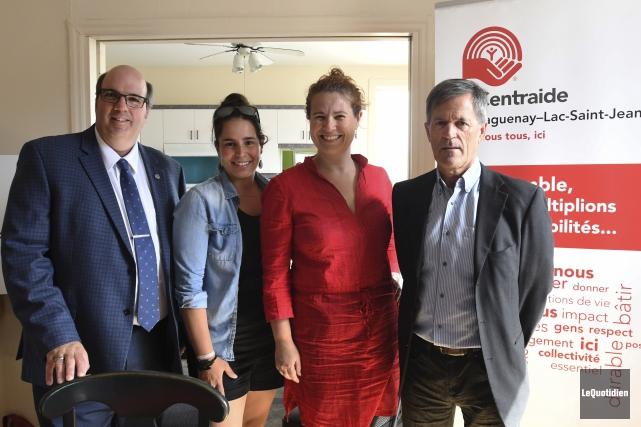 Le directeur général de Centraide, Martin Saint-Pierre, aime... (Photo Le Quotidien, Michel Tremblay)