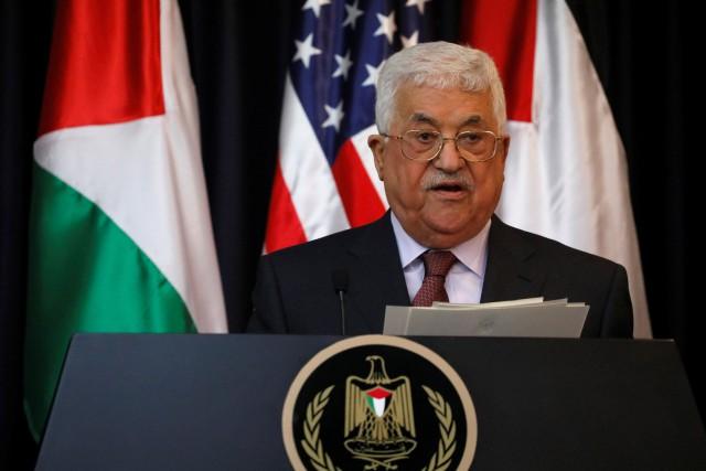 Washington a insisté auprès du président palestinien Mahmoud... (ARCHIVES REUTERS)