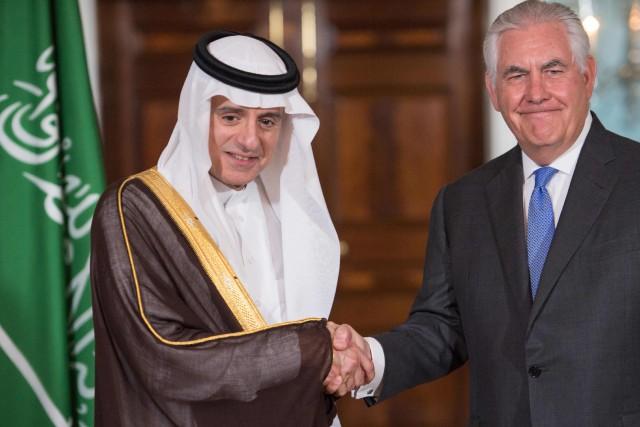 Le chef de la diplomatie saoudienne, Adel al-Jubeir,... (PHOTO AFP)