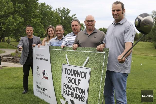 Le tournoi de golf aura lieu au club... (Patrick Woodbury, Le Droit)