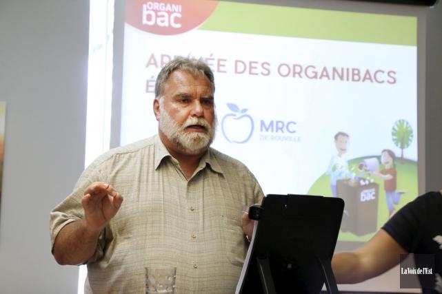 Le préfet de la MRC, Jacques Ladouceur, s'est... (Janick Marois, La Voix de l'Est)