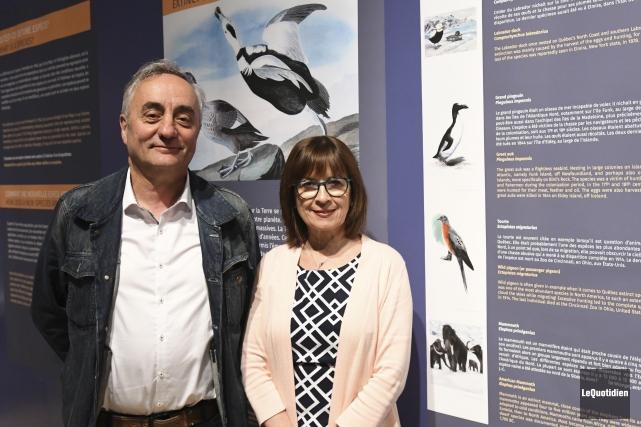 Philippe Guillet, directeur du Muséum d'histoire naturelle de... (Photo Le Quotidien, Michel Tremblay)