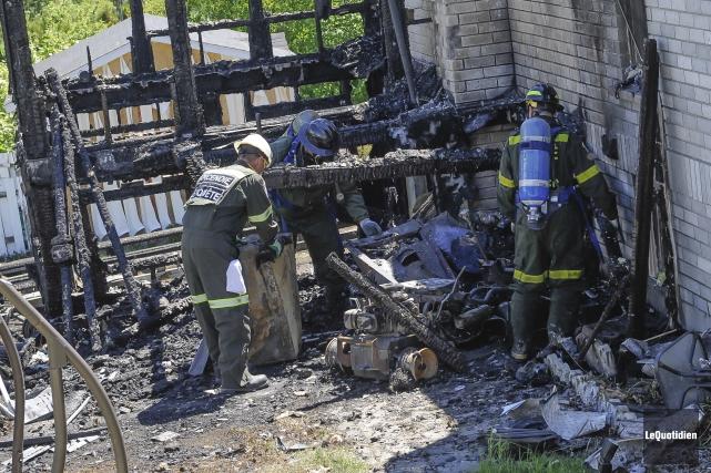 Mathieu Parente-Soares est accusé d'avoir allumé l'incendie qui... (Archives Le Quotidien, Michel Tremblay)