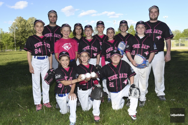 Pour la première fois depuis plusieurs années, Baseball... (Photo Le Quotidien, Michel Tremblay)