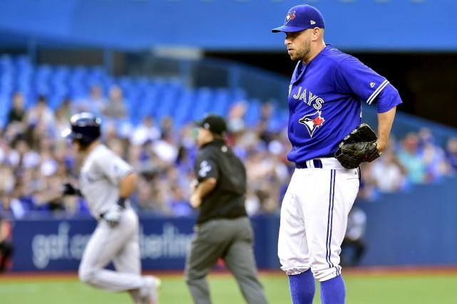 Le lanceur partant des Blue Jays, Marco Estrada,... (Photo PC)