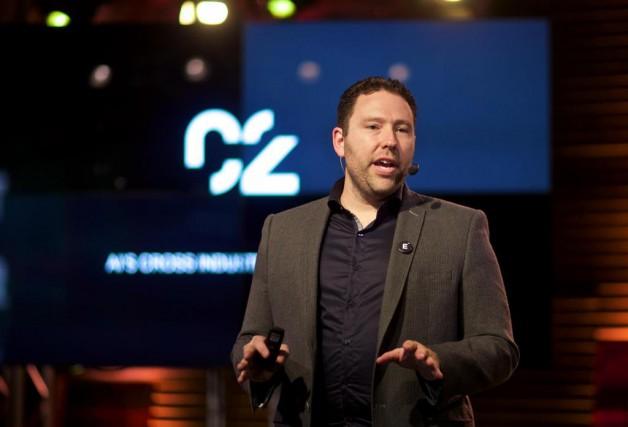 Jean-François Gagné, PDG et cofondateur d'Element AI, lors... (Photo André Pichette, La Presse)