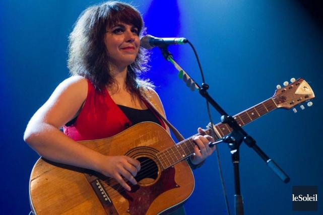 L'Acadienne et résidante de Montréal Lisa LeBlanc a... (Photo archives Le Soleil)