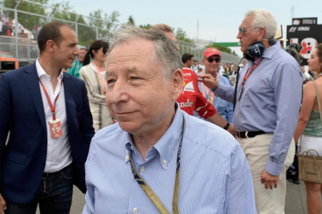 Jean Todt, président de la Fédération internationale de... (Photo Bernard Brault, La Presse)