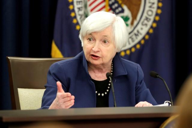 La présidente de la Réserve fédérale Janet Yellen.... (PHOTO REUTERS)