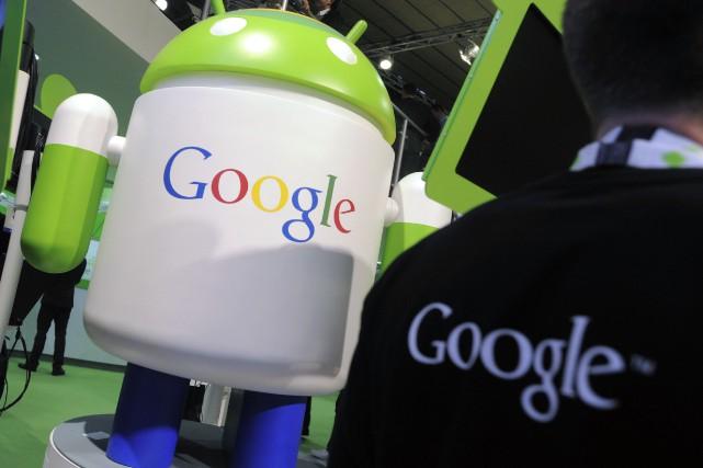 Google et d'autres multinationales américaines comme Amazon ou... (PHOTO DENIS DOYLE, ARCHIVES BLOOMBERG)