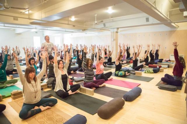 En plus des cours de yoga offerts dans... (Photo fournie par Naada Yoga)
