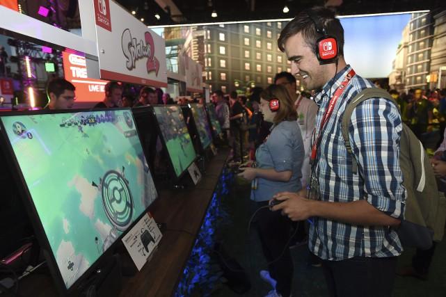 Le salon E3 accueille pour la première fois... (AP, Jordan Strauss)