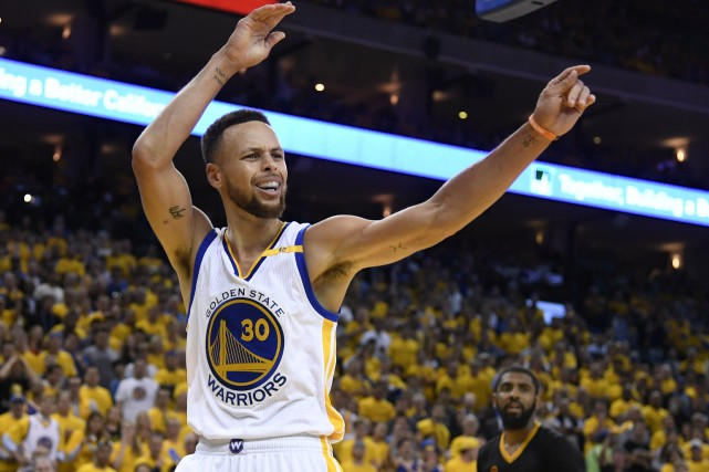 Stephen Curry... (Photo Kyle Terada, USA Today Sports)